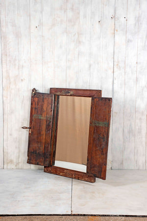 Wooden Window Mirror - Large No 62
