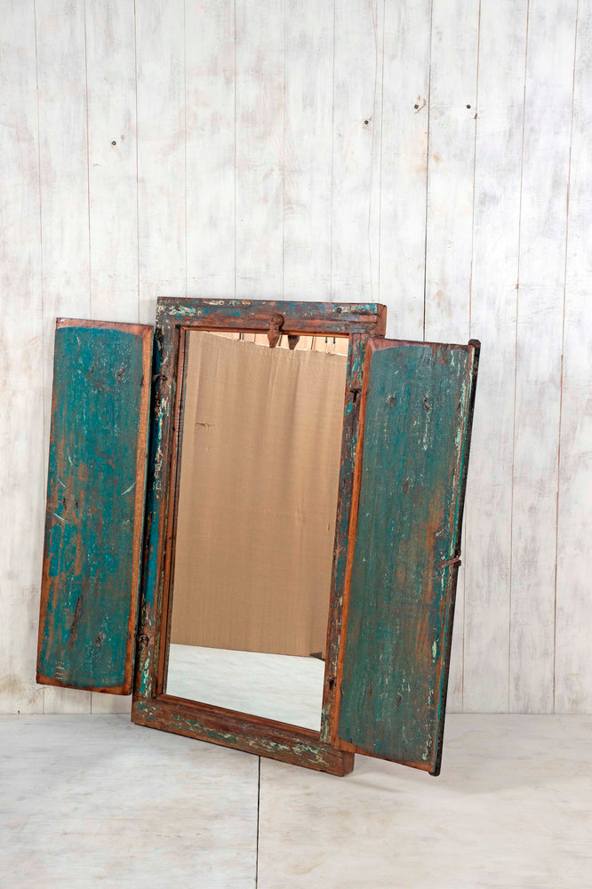Wooden Window Mirror - Large No 63