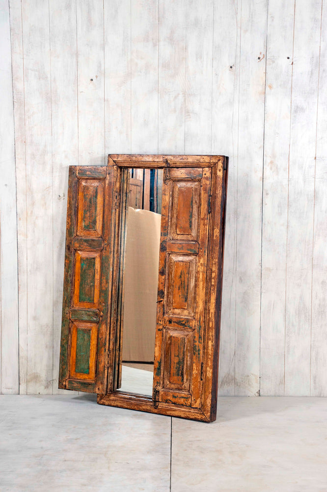 Wooden Window Mirror - Large No 65