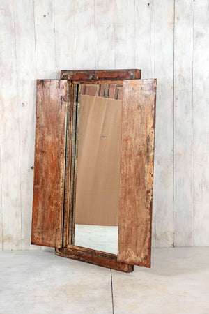 Wooden Window Mirror - Large No 74