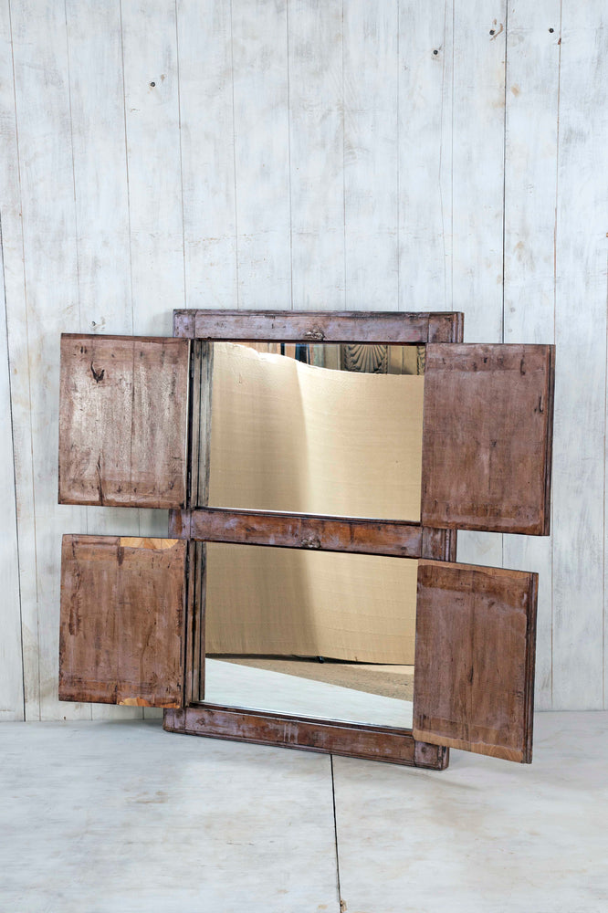 Wooden Window Mirror - Large No 75