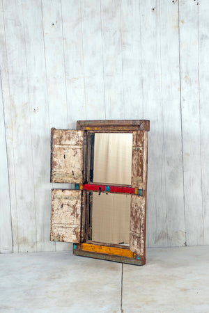 Wooden Window Mirror - Large No 86