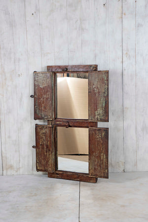 Wooden Window Mirror - Large No 88
