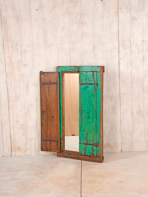 Wooden Window Mirror - Large No 91