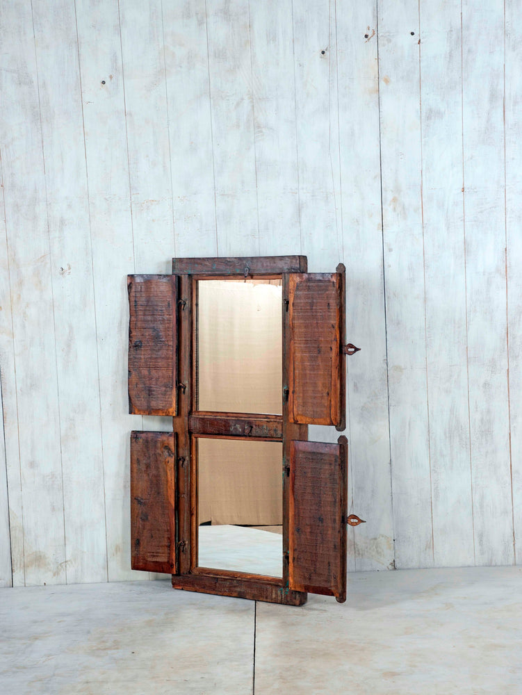Wooden Window Mirror - Large No 93