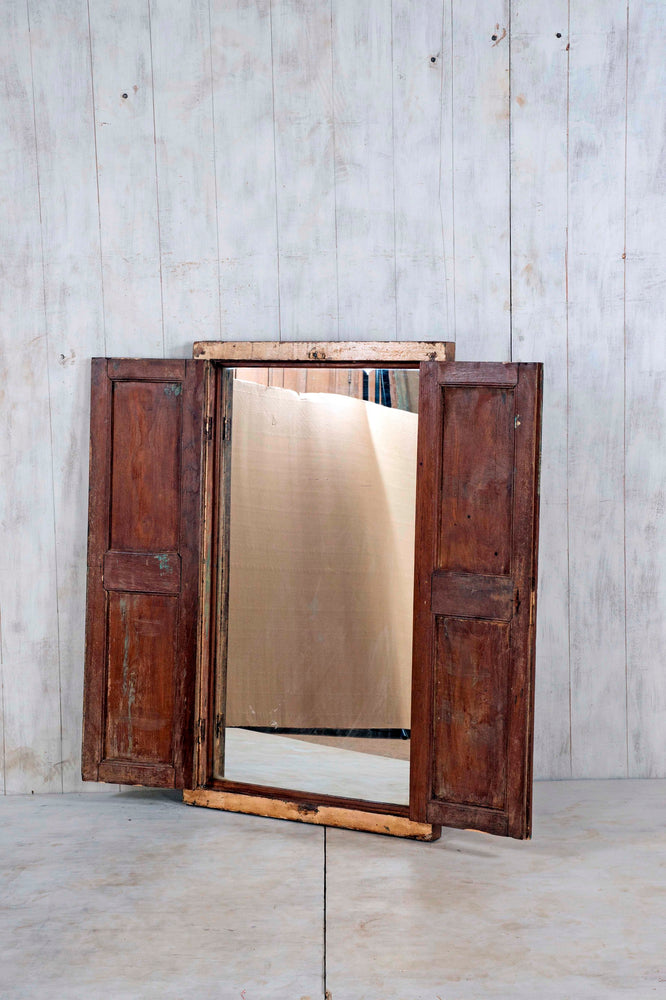 Wooden Window Mirror - Large No 99
