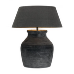 Hamo Vase Lamp Black/Brown