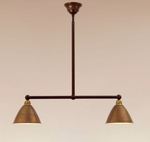 Vechia Double Shade Pendant Light