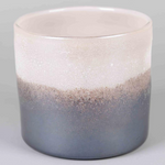Earth & Sky Blush Glass Hurricane