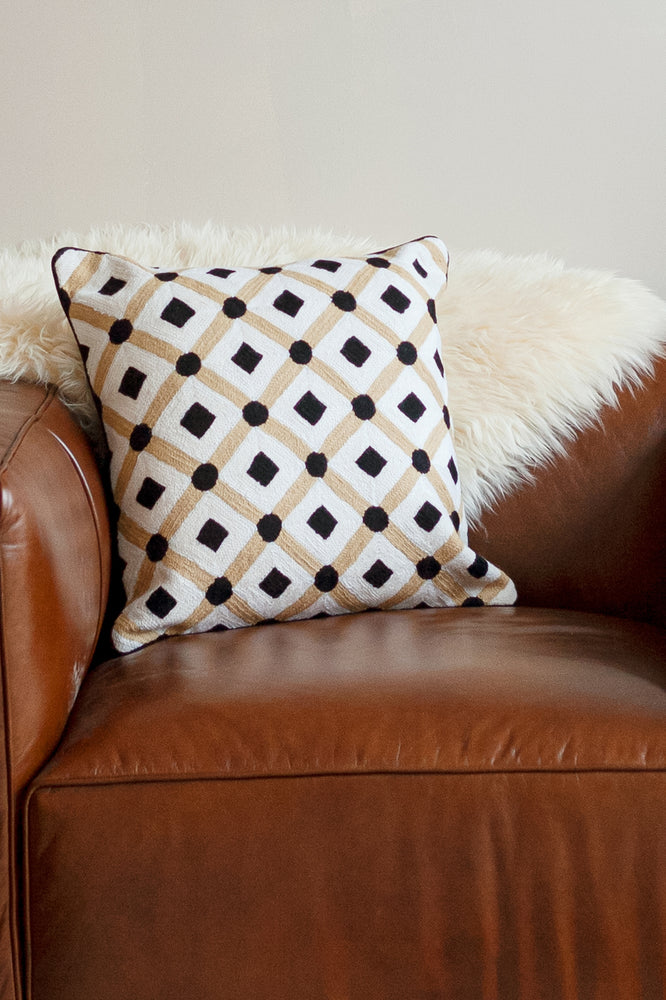 Shadab Black Cushion
