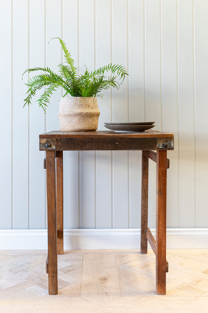 Natural Wooden Cafe Table - 60cm