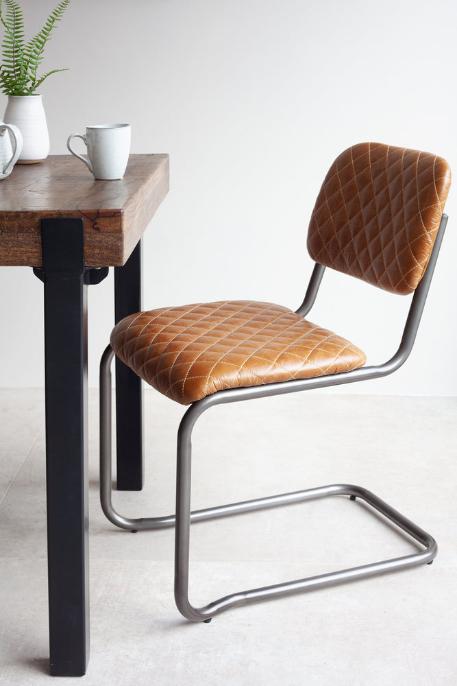 Soho Dining Chair - Cuba Brown