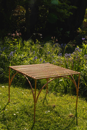 Load image into Gallery viewer, Iron Garden Table- Copper