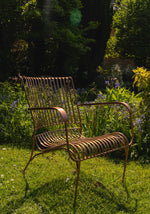 Iron Garden Chair - Copper