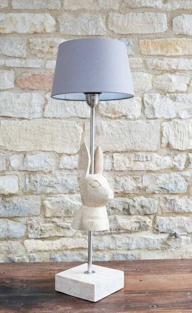 White Rabbit Lamp Base
