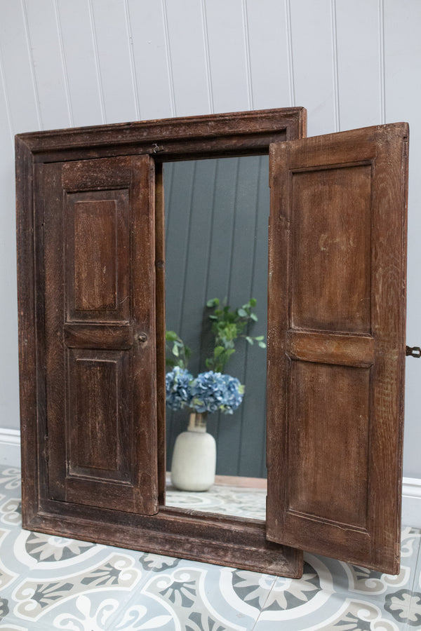 Wooden Window Mirror No 31