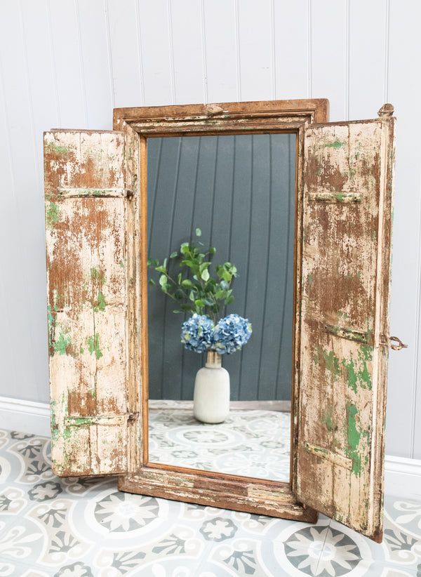 Wooden Window Mirror No 41