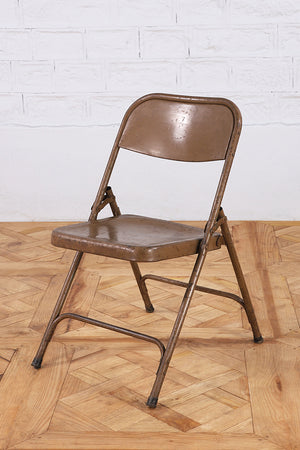 Load image into Gallery viewer, Iron Foldaway Chair - Brown