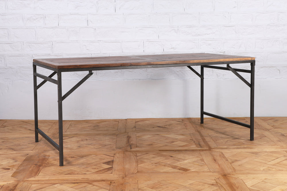 Wood and Iron Tent Table - 180cm