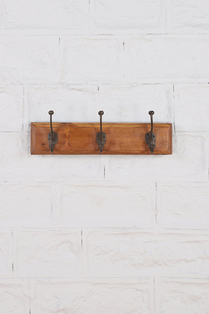 Load image into Gallery viewer, Coat Hook - 3 Pegs