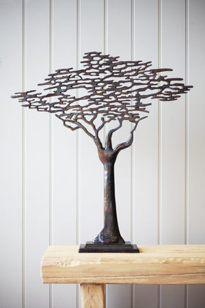 Small Tree of Life Oxidised Pewter