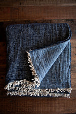 Van Dyck Throw - Denim