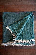 Van Dyck Throw - Dark Green