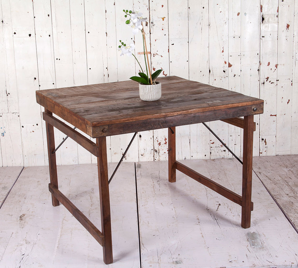 natural wooden dining table 100 square