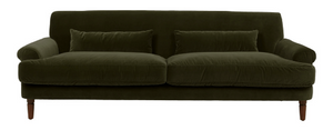 Load image into Gallery viewer, Broadwell Sofa - Velvet Petrol