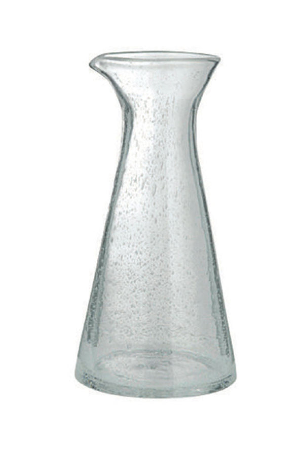 Clear transparent glass carafe from Broste