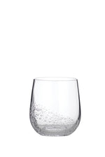 Broste Glass Bubble Tumbler - Curved