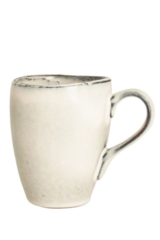 Broste Nordic sand mug - with handle