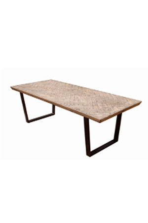 Load image into Gallery viewer, Hidcote Herringbone Dining Table - 220cm