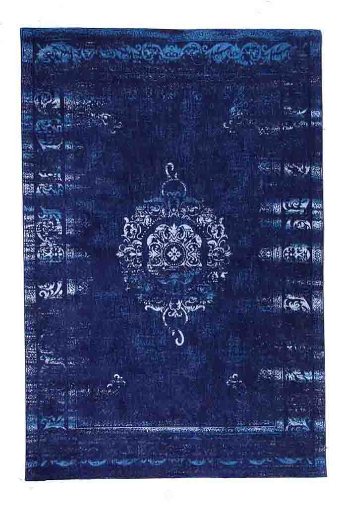 Divine midnight blue rug