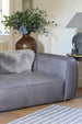 James Leather Sofa - Smoke