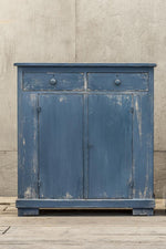 Distressed blue Seafront side board, by Van Thiel.