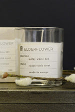 Broste Scented Candle Elderflower Soy Wax in Glass