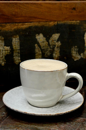 Beautiful Broste Nordic Sand cup and saucer.