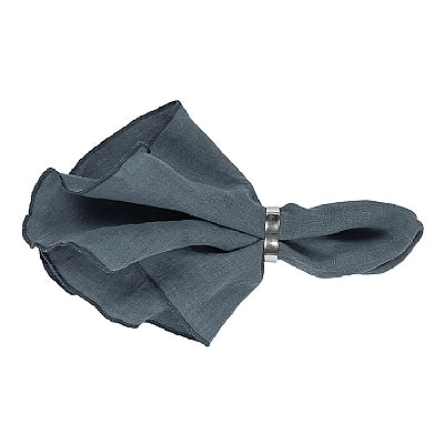 Load image into Gallery viewer, Napkin Gracie Petrol Blue