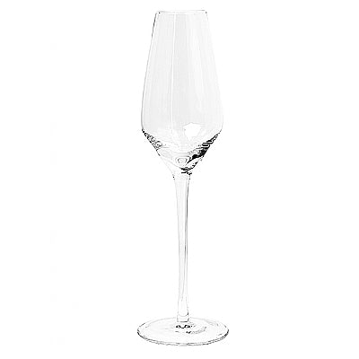 Broste Stripe Champagne Glass