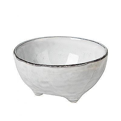 Broste Nordic Sand Bowl with 3 Small Feet - Large