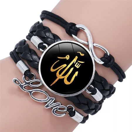 Black Faith Bracelet - Allah - Divinity Collection
