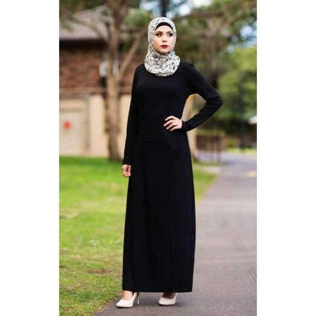 Black Pocket Dress - Divinity Collection
