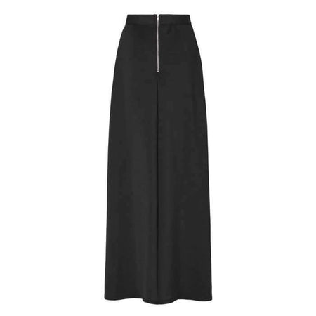 Black Scuba Pleated Skirt - Divinity Collection
