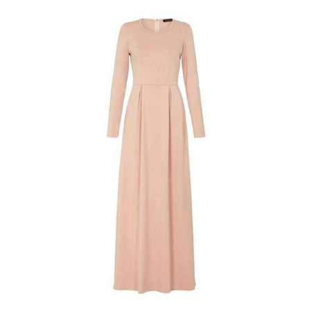 Blush Pleated Dress - Divinity Collection