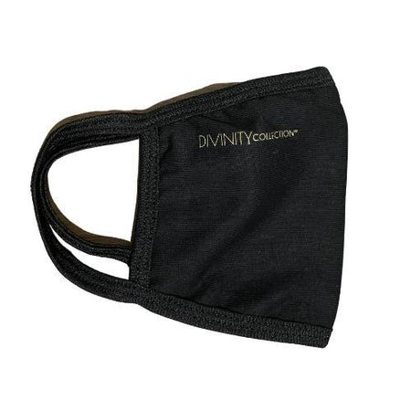 Divinity Cloth Cotton Washable Face Mask - Black - Divinity Collection