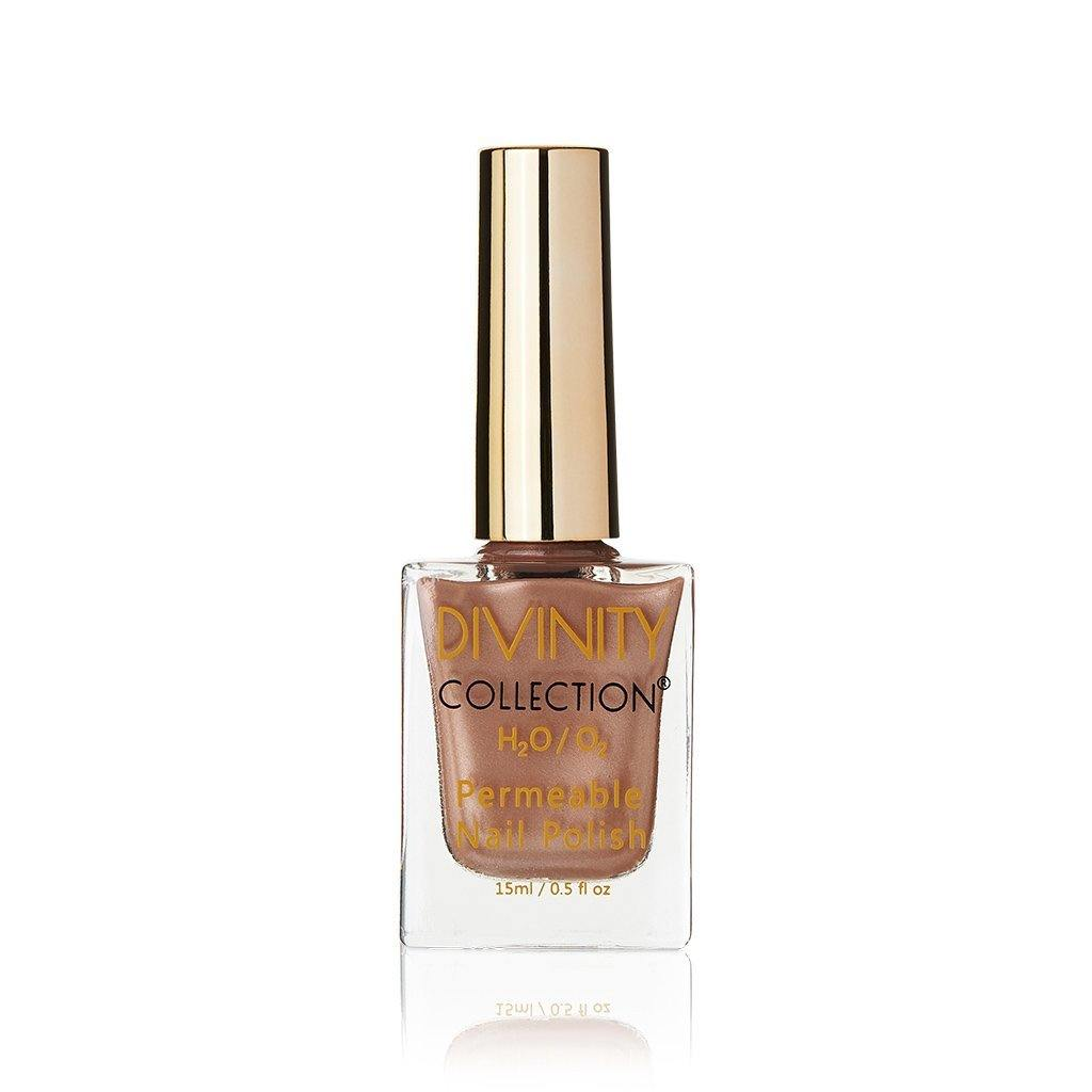 Divinity Collection Permeable Halal Nail Polish Bronze Exclusive At
