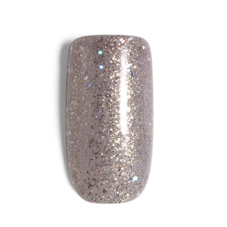 Divinity Collection Permeable Halal Nail Polish - Silver Sparkle - Divinity Collection