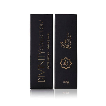 Divinity Halal Vegan Matte Lipstick 9 - Burgundy - Divinity Collection