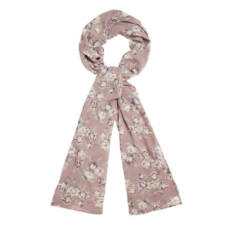 Dusty Purple Floral Hijab - Divinity Collection